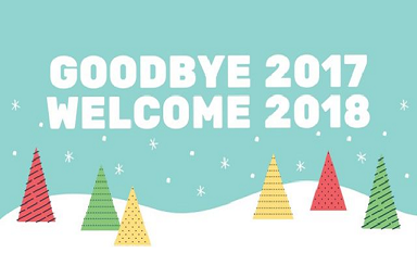 Good Bye 2017 & Welcome 2018