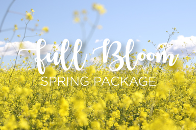 Full Bloom Spring Package