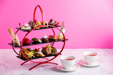 [Novotel Ambassador  Seoul Gangnam] [Lobby Lounge] Ecuador Chocolate : Afternoon Tea set
