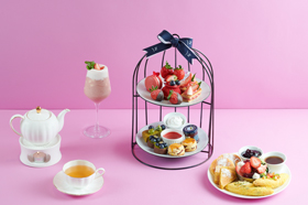 [GOURMET BAR] Strawberry Afternoon Tea Set - 스트로베리 애프터눈티 세트