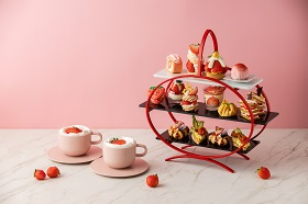 [Lobby Lounge] Strawberry N Afternoon tea set